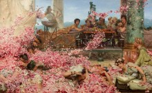 Розы Гелиогабала - Альма-Тадема, Лоуренс