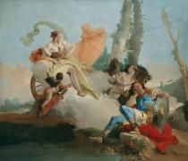 Армида и спящий Ринальдо - Тьеполо, Джованни Баттиста