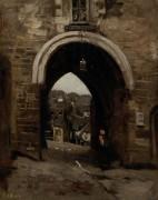Иерусалимские ворота в Динане - Коро, Жан-Батист Камиль