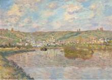 Вечер, Ветёйль, 1880 - Моне, Клод