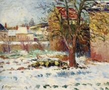 Снег в Незель - Манцана-Писсарро, Жорж