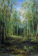 Березовая роща, 1875 - Шишкин, Иван Иванович