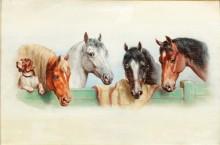 Собака и четыре лошади - Райкерт, Карл