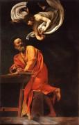 Святой Матфей и ангел - Караваджо, Микеланджело Меризи да