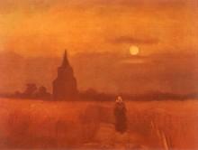 Старая башня в поле - Гог, Винсент ван