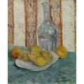 Натюрморт с графином и лимонами на тарелке (Still Life with Decanter and Lemons on a Plate), 1887 - Гог, Винсент ван