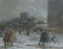 Площадь Купера, 1900-08 - Шинн, Эверетт