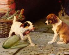 Откупоривание бутылки - Труд, Уильям Генри Гамильтон