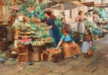 Рынок в Венеции - Ново, Стефано