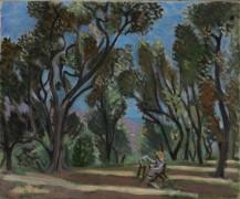 Живописец в оливковой роще - Матисс, Анри