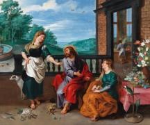 Христос в доме Марфы и Марии - Брейгель, Ян (младший)