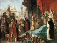 Возвращение Христофора Колумба - Делакруа, Эжен