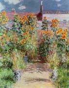 Сад в Ветее - Моне, Клод
