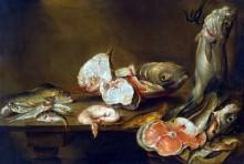 Натюрморт с дарами моря - Адриансен, Александр