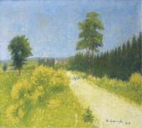 Дорога Бельвезе около станции Ревейсебл, 1918 - Ложе,  Ашиль