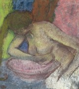Женщина за туалетом, 1897 - Дега, Эдгар