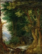 Лесной пейзаж - Брейгель, Ян (Старший)