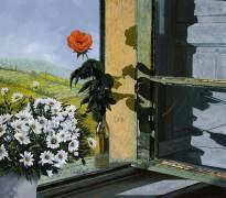 Роза у окна - Борелли, Гвидо (20 век)
