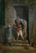 Материнская забота - Милле, Жан-Франсуа