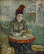 Агостина Сегатори в кафе «Тамбурин» (Agostina Sagatori Sitting in the Cafe du Tambourin), 1887 - Гог, Винсент ван