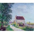 Деревня Сабло, 1885 - Сислей, Альфред