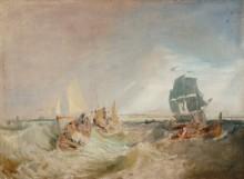 Перевозка груза  в устье Темзы - Тернер, Джозеф Мэллорд Уильям