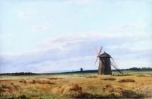 Мельница в поле, 1861 - Шишкин, Иван Иванович
