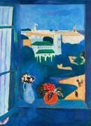 Марокканский триптих. Вид из окна. Танжер - Матисс, Анри