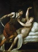 Тарквиний и Лукреция - Тициан Вечеллио