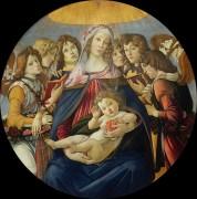 Мадонна с гранатом - Боттичелли, Сандро