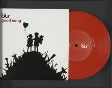 Обложка CD альбома Good song группы Blur - Бэнкси