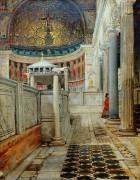 Интерьер церкви святого Климента, Рим - Альма-Тадема, Лоуренс