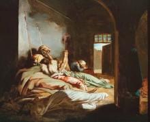 Время чумы - Жерико, Теодор Жан Луи Андре