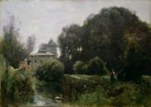 Воспоминание о вилле Боргезе - Коро, Жан-Батист Камиль