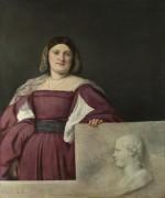 Портрет леди - Тициан Вечеллио