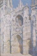 Руанский собор в солнечном свете, 1893-1894) - Моне, Клод
