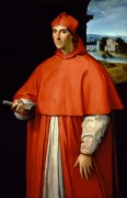Портрет кардинала Алессандро Фарнезе. - Рафаэль, Санти