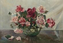 Розы в чаше -  Лапшин, Георгий Александрович