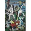 Похищение сабинянок - Пикассо, Пабло