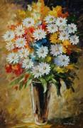 Букет летних цветов - Афремов, Леонид (20 век)