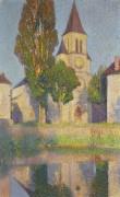 Церковь за рекой Вер в Лабастиде - Мартен, Анри Жан Гийом