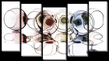 Бокалы с отражением_2