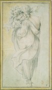 Цыганка с ребенком - Белланж, Жак