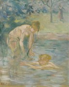 Купальщицы, 1892 - Моризо, Берта