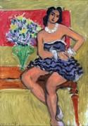 Голубая балетная пачка - Матисс, Анри
