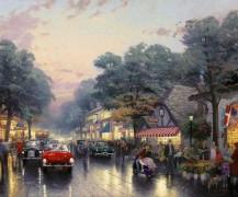 Улица Долорес, Кармел, Калифорния - Кинкейд, Томас