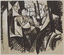 Две женщины у окна - Глез, Альбер