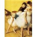 Танцоры в своих костюмах , 1880 - Дега, Эдгар