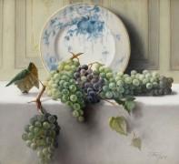 Натюрморт с виноградом, 1898 -  Банди, Джон Элвуд