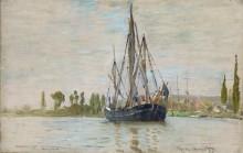 Рыбацкая лодка на якоре - Моне, Клод